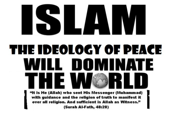 Image result for pics of islam will dominate the world